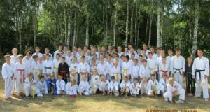 Учебно-тренировочный сбор в урочище Зеленый Гай (2013г)