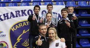 WKF «Kharkov open —  Результат выступления нашей команды