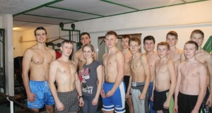 Тренировка в атлетическом зале