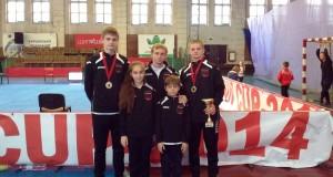 «Прогрессовцы» на международном турнире по каратэ WKF «International union cup»