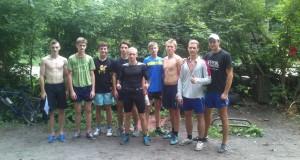 Пробежка на 13 км