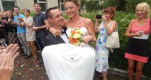 Поздравляем с Бракосочетанием нашего друга — тренера клуба «Терра» Гутэнко Виталия и его супругу Ксению!!!