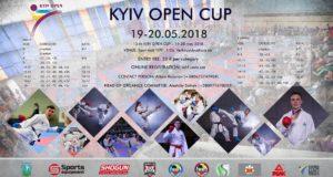 Выезд на турнир «Kyiv open 2018»